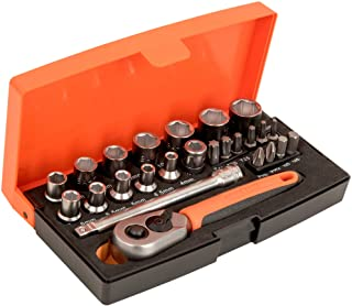 "Bahco SL25 1/4"" 25-pieces hexagon Socket Set"