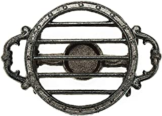 Sungmor Heavy Duty Cast Iron Teapot Dish Warmer Stable Holder for Tealight Stand | Tealight Warmer Decorative Stove for Vi...