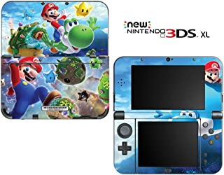 Super Mario Galaxy Yoshi Decorative Video Game Decal Cover Skin Protector for New Nintendo 3DS XL (2015 Edition)