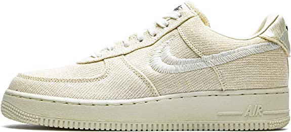 Amazon.com | Nike Mens Air Force 1 Low CZ9084 200 Stussy - Fossil ...
