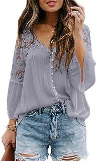 Aleumdr Womens Color Block Sweatshirts Long Sleeve Striped Drawstring Hoodies Pullover S-XXL