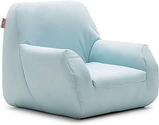 Big Joe Mid Mod, Lenox Icecap Blue Kid's Chair