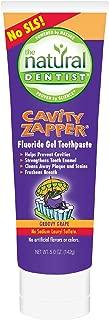 Natural Dentist Tpaste,Kids Cab Zap,Grape, 5oz, 5pk