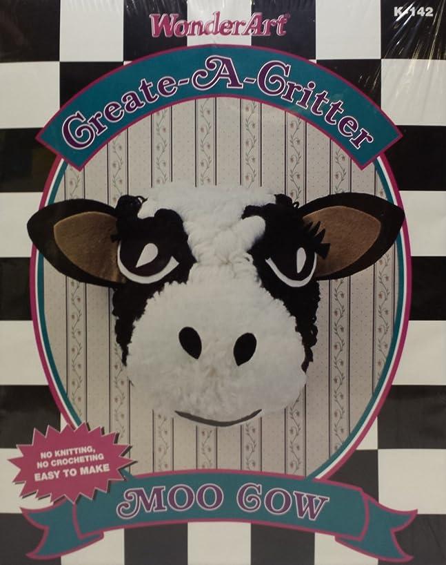 Wonderart Create-A-Critter Kit (Moo Cow)