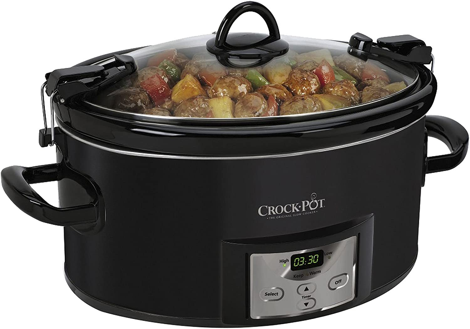 Crock-Pot 7-Qt. Cook n' Carry Programmable Countdown Slow Cooker