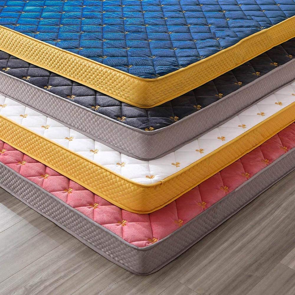 Mattress Super Special SALE Attention brand held YKBBA Crystal Velvet Embroidery Toppers Thicke