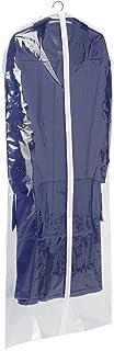 WENKO Housse vêtements transparent, Polyéthylène, 60 x 150 cm, Transparent
