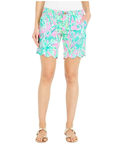 Lilly Pulitzer Darci Knit Shorts (Prosecco Pink Hangin Around) Women