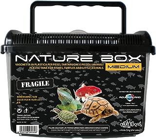 Bicaquu 1Pc Rettile Terrario Alimentatore Snakes Spider Lizard Acrilico Allevamento Box Case Insetti House
