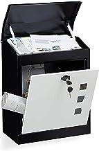 FSFF Postbox Outdoor Mailbox Met Lock Home Anti-diefstal Koeriersdoos Grote Capaciteit Roestvrij Staal Brievenbus (Kleur: ...