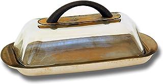 Gold Butter Dishes Serveware Home Kitchen