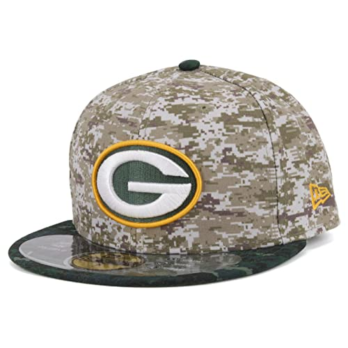 New Era GreenBay Packers Official On Field 2015 Salute to Service Fitted Cap ea25cc96c9c