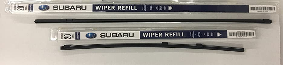 Subaru 2006 to 2007 Subaru Tribeca Front Windshield Wiper Blade Refill Set Genuine