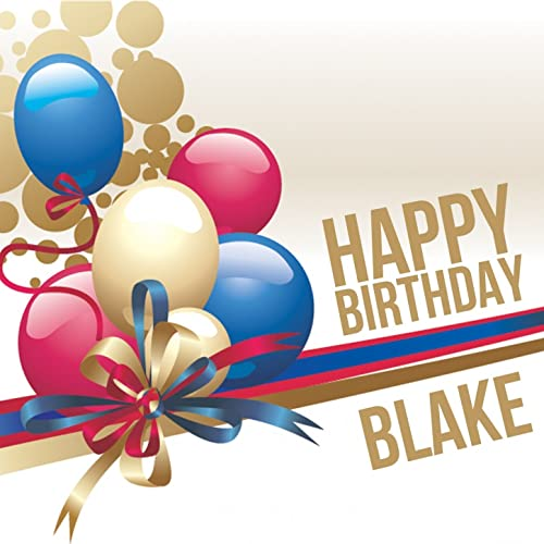 Happy Birthday Blake By The Happy Kids Band On Amazon