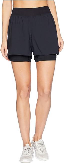 """2-N-1® 5.5"""" Shorts"""