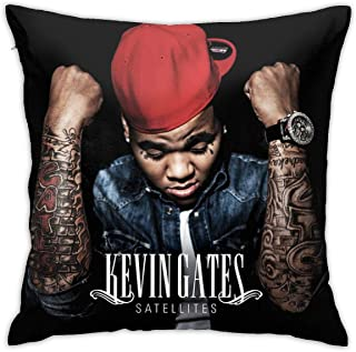 HuangziQW Kevin Gates Kevin Gates Unisex Band Sofa Throw Pillow Case Decoration Gift(18inch18inch)