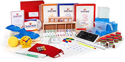 ShillerMath Kit I - Homeschool Montessori Lessons - (Pre-K to 3rd Grade)