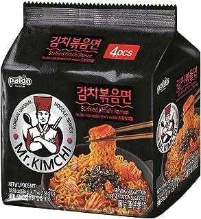 Paldo Mr. Kimchi Stirfried Kimchi Ramen 134 g (4 unidades)