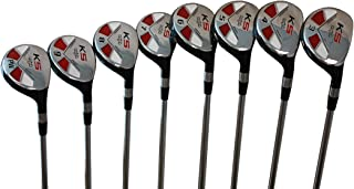 Petite Senior Womens Majek Golf Clubs All Ladies Hybrid Complete Full Lightweight Graphite Set which Includes: #3, 4, 5, 6, 7, 8, 9, PW. Lady Flex Right Handed New Rescue Utility