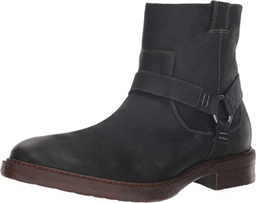 Lucky Brand Hommes's Hinton Ankle démarrage, Dark gris Leather, 12 M US