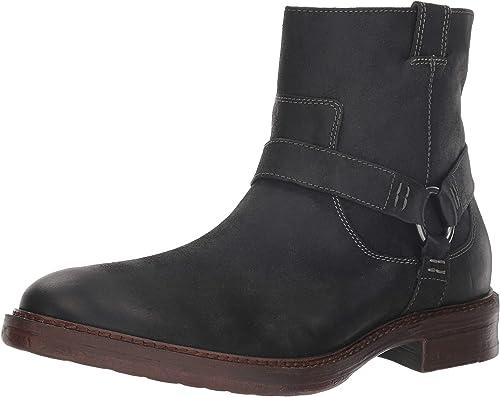 Lucky Brand Hommes's Hinton Ankle démarrage, démarrage, Dark gris Leather, 12 M US