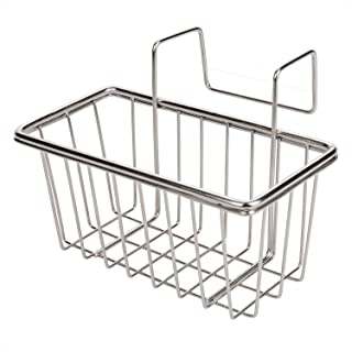 Jianyi Sponge Holder, Sink Caddy, Rust Proof Kitchen Brush Soap Dishwashing Liquid Drainer Rack- Stainless Steel