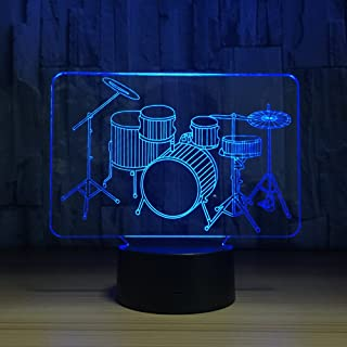 Amazon Com Led Drum Lamps Lighting Kids Room Décor Home Kitchen