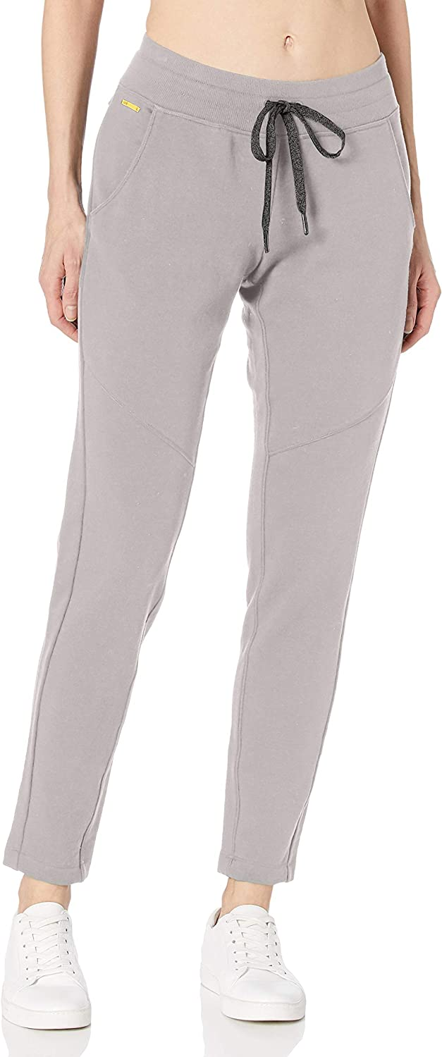 Lole Damen Hose Felicia, Damen, G - Medium grau Heather, Large