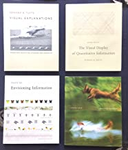 Set of Edward R. Tufte Books: Envisioning Information / The Visual Display of Quantitative Information / Visual Explanations: Images & Quantities, Evidence & Narrative / Beautiful Evidence / Plus, Seeing Around Edward Tufte a Booklet/Gallery Guide