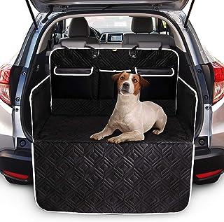 Toozey Völliger Kofferraumschutz für Hund mit 3 Aufbewahrungstaschen   Reißfeste&Wasserdichter Hundedecke Kofferraum Auto mit Seitenschutz Schützt vor Schmutz, Kratzern und Hundehaaren