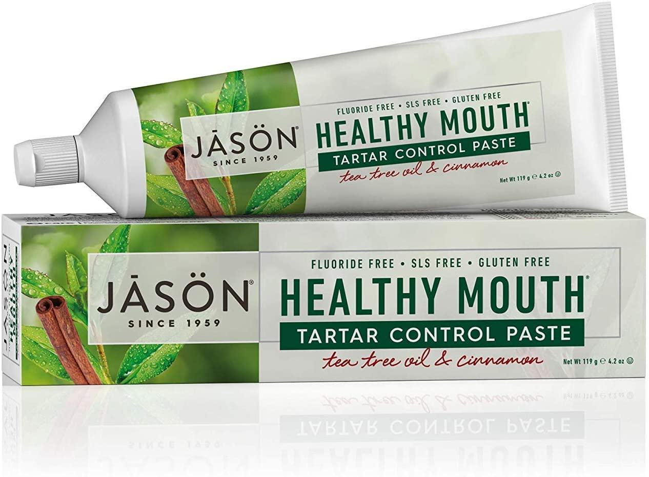Toothpaste free Healthy Mouth 4.2 Great interest Oz Products Jason Pack Natural by