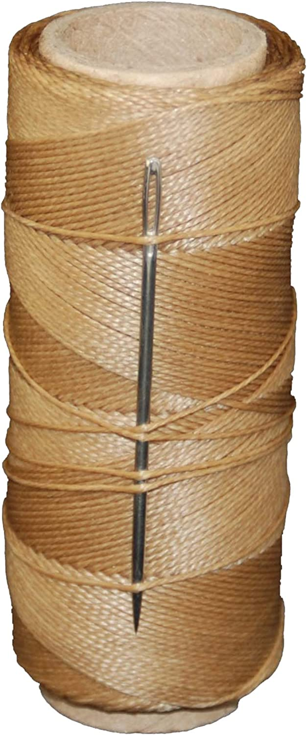 T.W Evans Cordage 11411 2-Ounce Wax Kit Credence gift Brown Sail Needle with