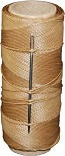 T.W Evans Cordage 11411 2-Ounce Wax Sail Kit with Needle, Brown