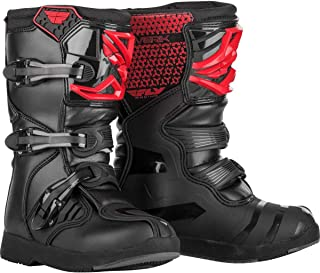 Fly Racing 2020 Youth Maverik Boots (5) (RED)
