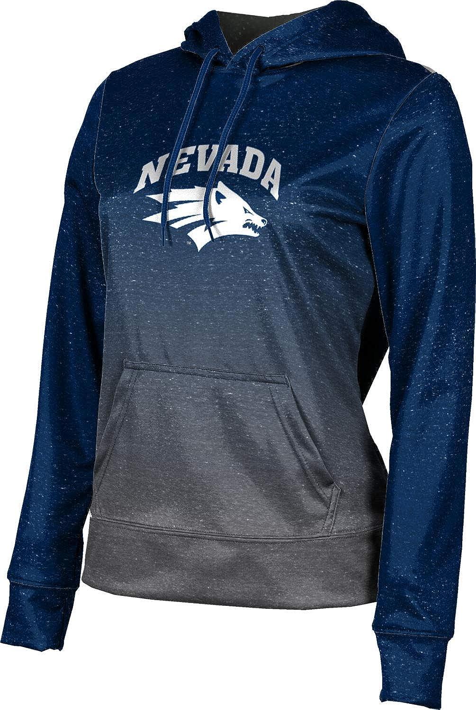 ProSphere University of Nevada Girls' Pullover Hoodie, School Spirit Sweatshirt (Ombre)