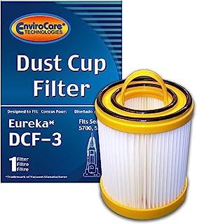 (1) كأس يوريكا Series 5700 5800 مطوي للأتربة، نوع السرعة DCF 3 هيبا بقاعدة بدون كيس ، Litespeed Whirlpool ، Sanitaire، 922...
