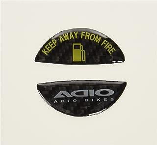 アディオ(ADIO) フューエルキャップエンブレム ブラック PCX125[ピーシーエックス](JF28/JF56) PCX150[ピーシーエックス](KF12/KF18) ZOOMER-X [110](JF52) LEAD125(JF45) DIO110(JF58) BK48118