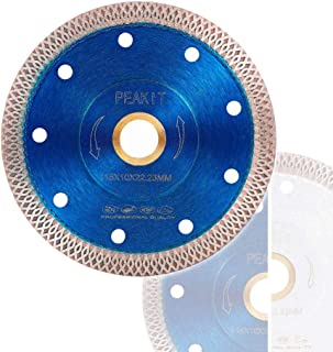 PEAKIT Tile Cutter Blade 4.5 Inch Porcelain Diamond Blade Ceramic Cutting Disc Wheel for..