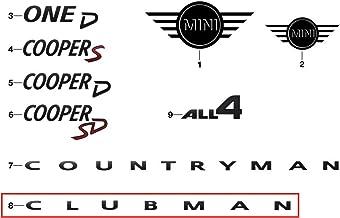 BMW MINI純正部品 CLUBMAN クラブマン ピアノブラック モデルレター エンブレム F54