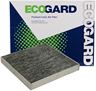 ECOGARD XC35843C Premium Cabin Air Filter with Activated Carbon Odor Eliminator Fits Smart Fortwo 2008-2018, EQ fortwo 2019