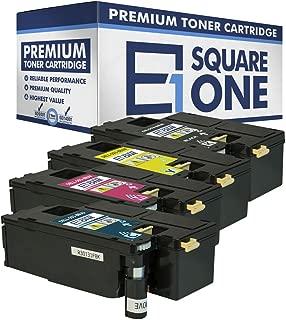 eSquareOne Compatible Toner Cartridge Replacement for DELL DPV4T 593-BBJX H5WFX 593-BBJU G20VW 593-BBJV 3581G 593-BBJW (Cyan, Magenta, Yellow)