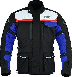 JET Motorcycle Motorbike Jacket Mens Textile Waterproof CE Armoured Aero Cool MERICANA