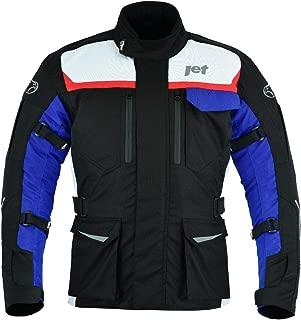 JET Motorcycle Motorbike Jacket Protective Textile Armoured Waterproof MERICANA (Large (40