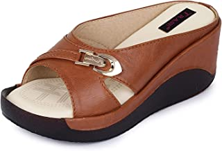 TRASE 44-046 Wedges for Women - 2.5 Inch Heel