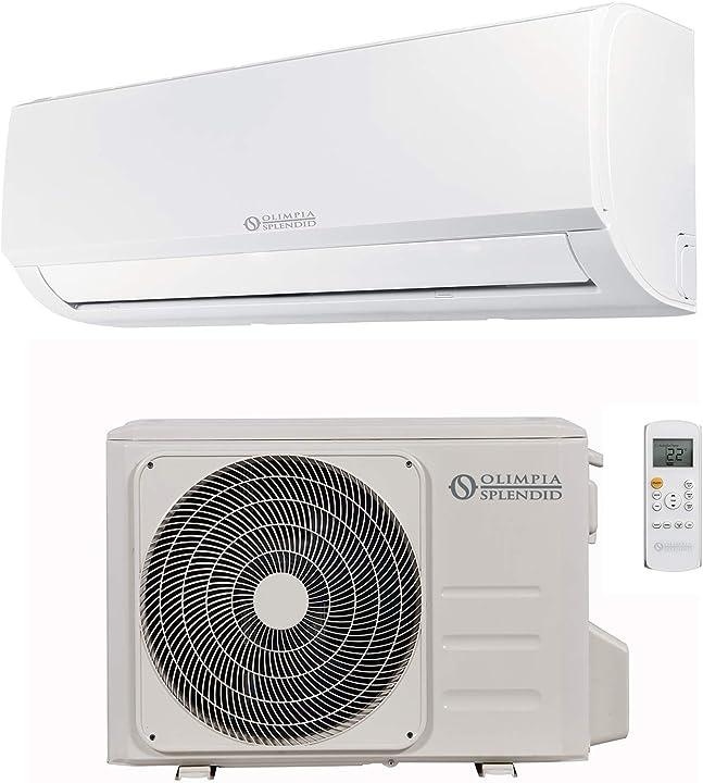 ?olimpia splendid climatizzatore fisso 10.000 btu/h inverter caldo freddo pompa di calore e wi-fi ready olimpia splendid b07b3byr2v