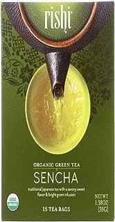 Rishi, Tea Green Sencha Organic, 15 Count