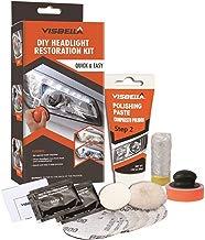 Visbella Kit de restauración de Faros Delanteros con Pulido, para Restaurar Faros turbios, amarillentos o Desgastados?Manual