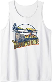 Vintage Yellowstone National Park Retro 80's Style Graphic Débardeur