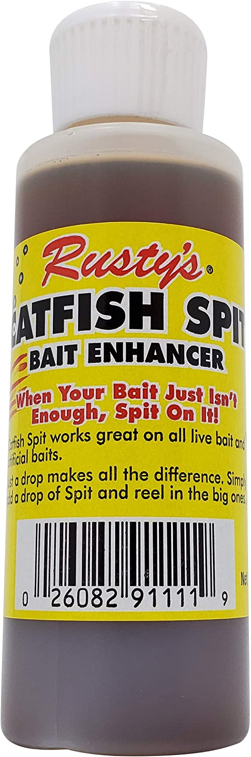 Denver Mall RUSTYS Catfish Spit Bait Enhancer Cheap mail order shopping Strong Fis Artificial Live or