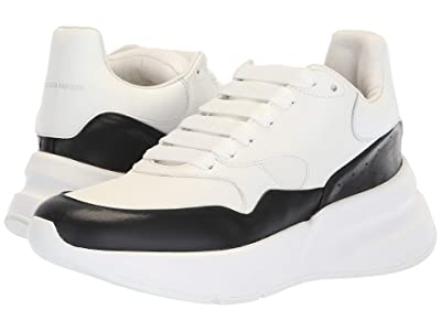 Alexander McQueen Oversized Runner Sneaker (White/Black) Women